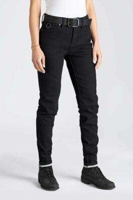 Kissaki Black – Motorcycle Jeans front view