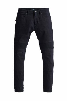 Karl Steel Black – Men's Single Layer Dyneema® Motorcycle Jeans
