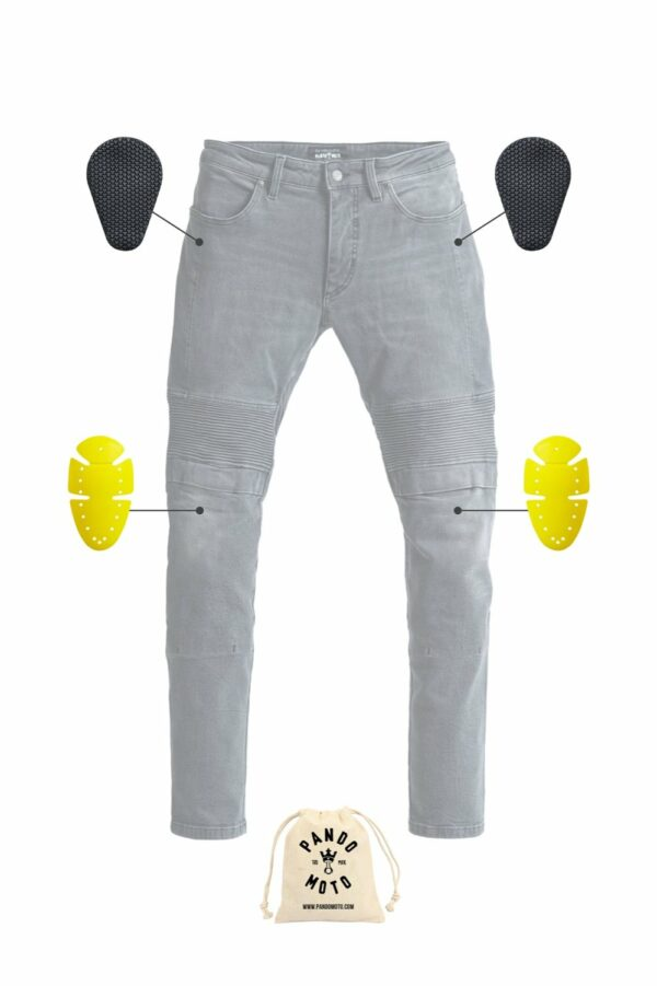Karl Lead motorcycle jeans armor