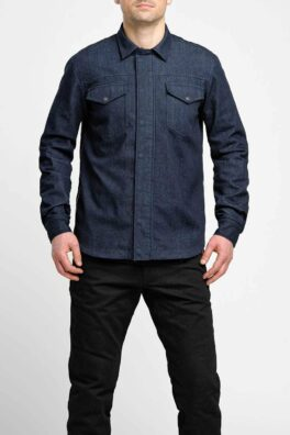 Capo Motorcycle Shirt – Unisex Slim-Fit Cordura® model front view