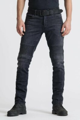 Karl Devil 9 – Men's Slim-Fit Motorcycle Jeans front view