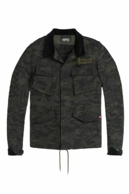 M65 Camo – Unisex Slim-Fit Dyneema® Motorcycle Jacket