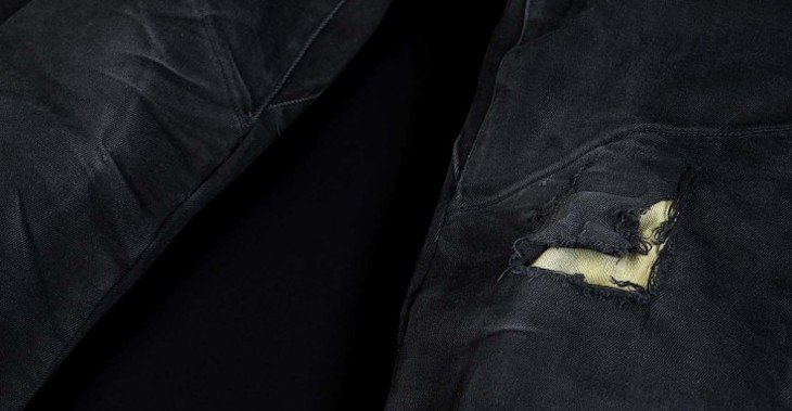 Pando Moto Boss Black 9 Jeans After 1 Year Of Stunt Riding