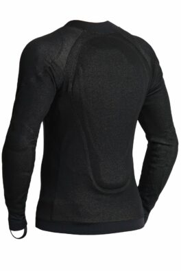 SHELL UH 01 – Unisex Dyneema® Armored Motorcycle Shirt from the back