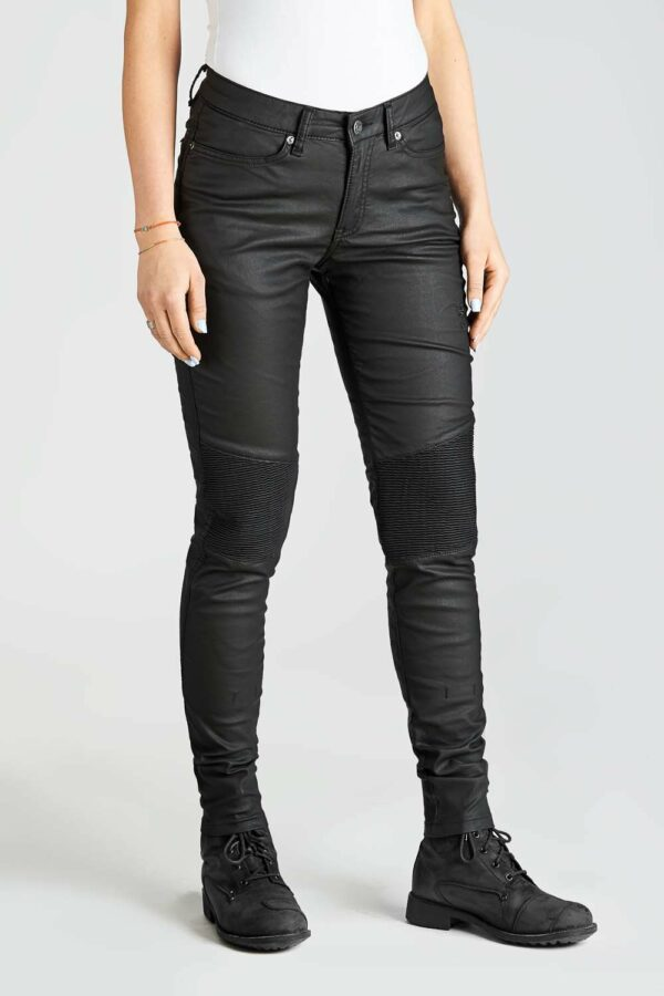 KUSARI KEV 01 Motorcycle Jeans – Women's Slim fit front view