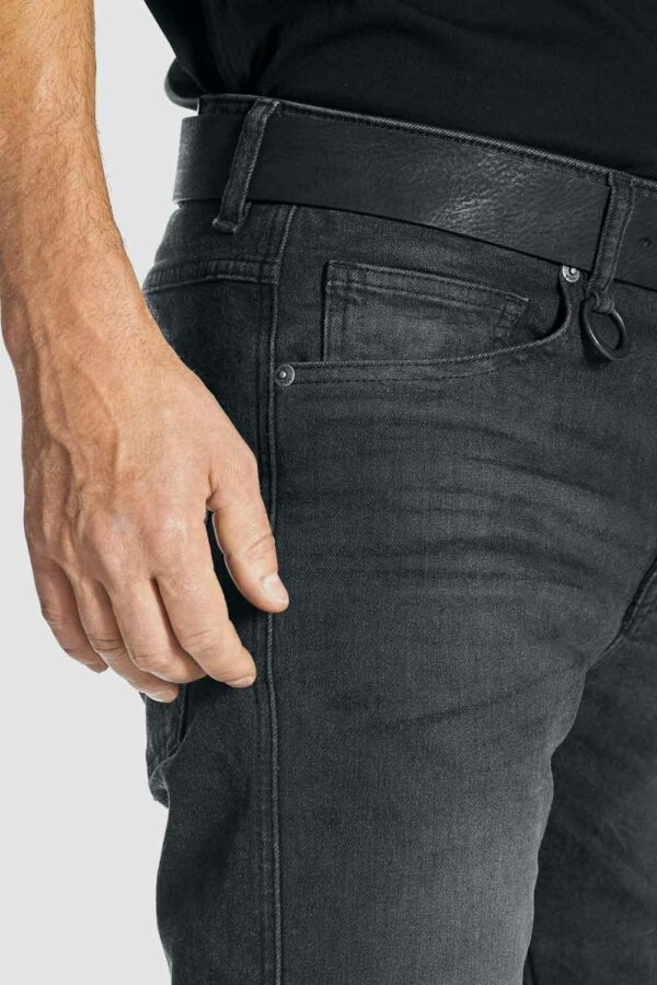 ROBBY COR 01 Motorcycle Jeans close pockets up