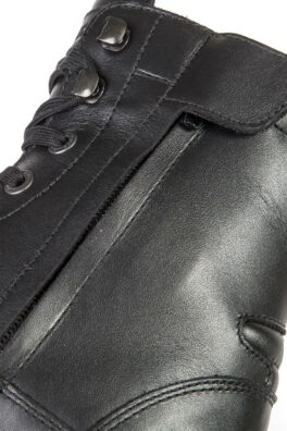 Jack Nero - Stylmartin waterproof motorcycle boots close up