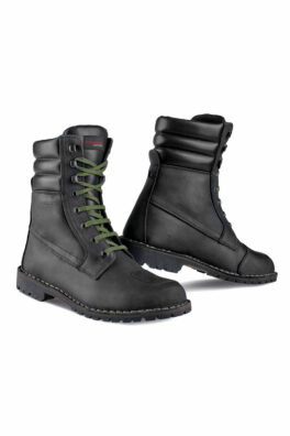 YU'ROK BLACK - Stylmartin waterproof motorcycle boots