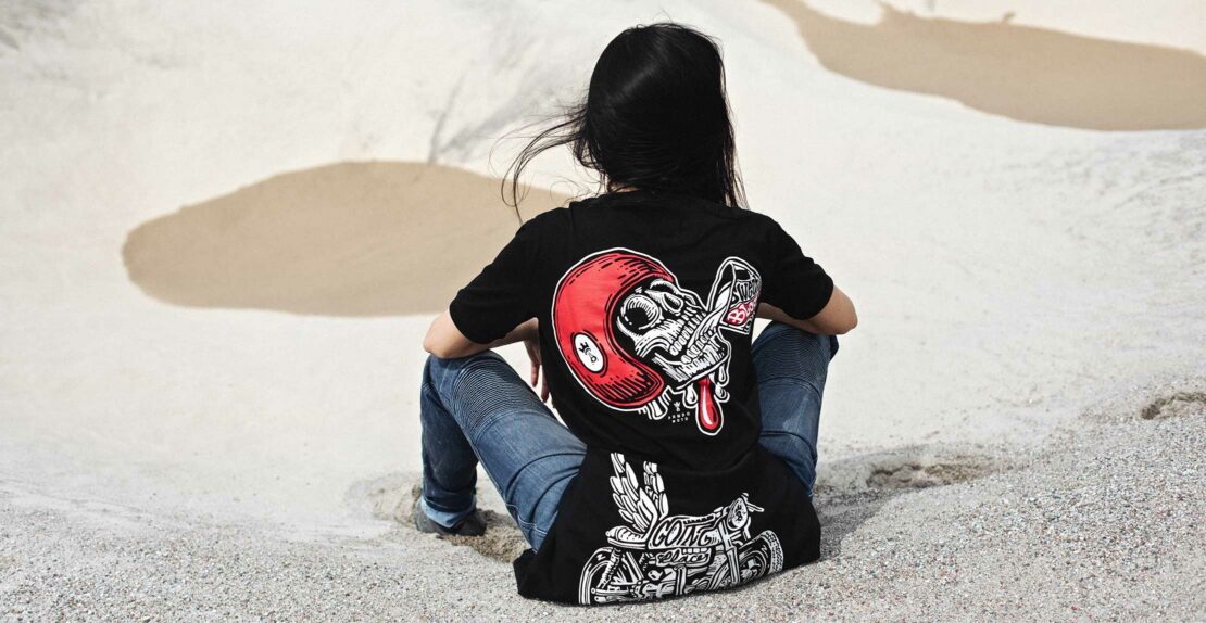 MIKE RED SKULL 1 T-Shirt for women - back view