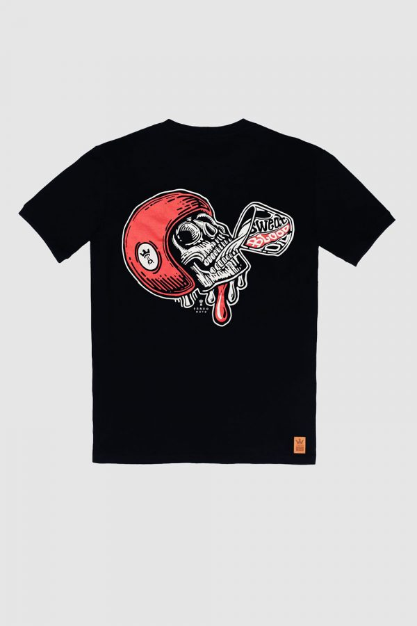 MIKE RED SKULL 1 T-Shirt front view plain