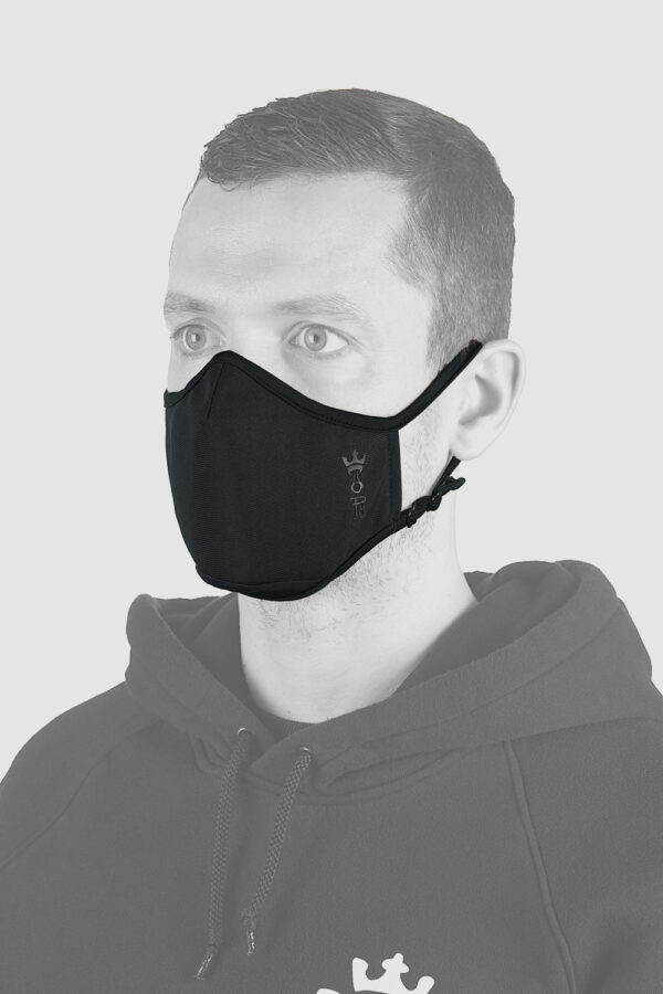 Adjustable face mask view 2