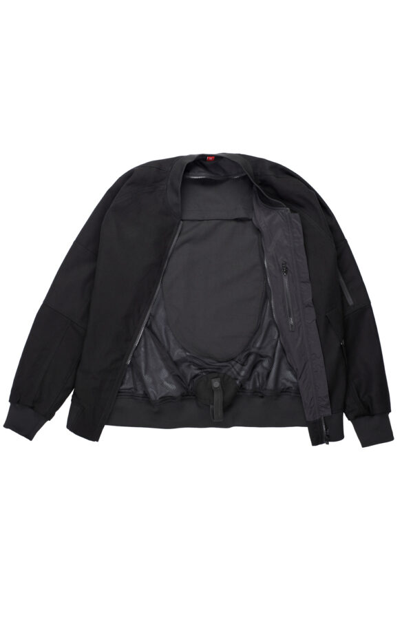 Armored Motorcycle Bomber Jacket Cor 01 inside look 2
