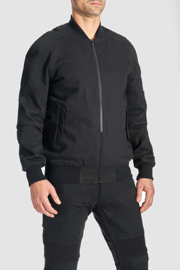 Armored Motorcycle Bomber Jacket front view