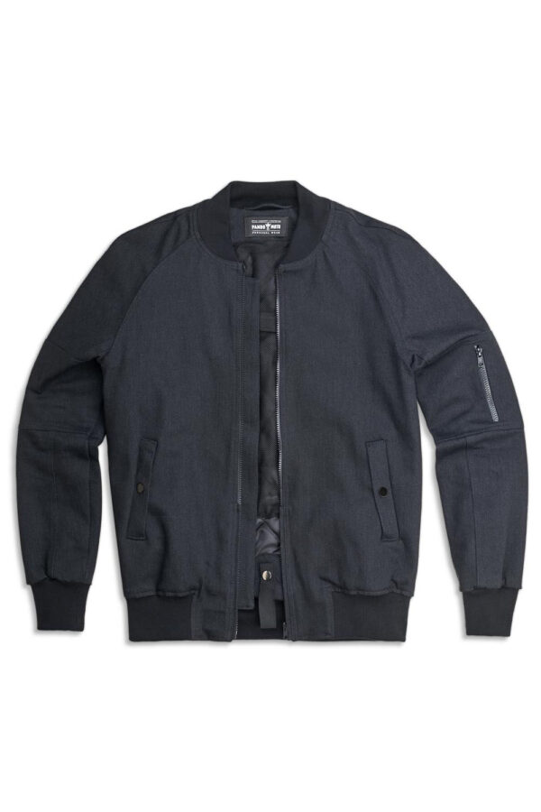 Armored Motorcycle Bomber Jacket COR 02 front view