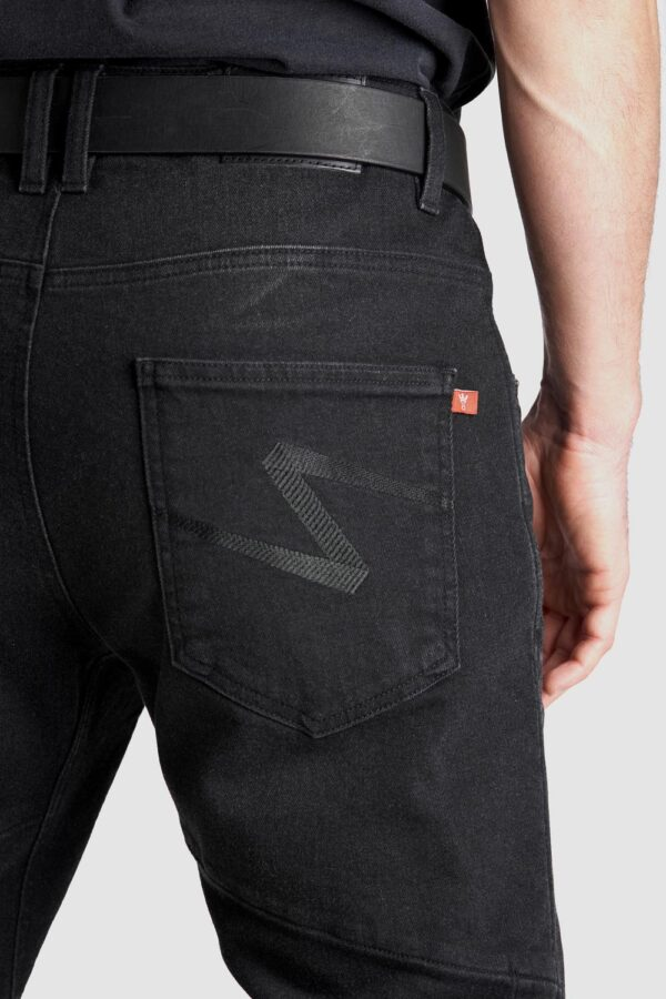 Boss Dyn 01 - Motorcycle Jeans close up back view