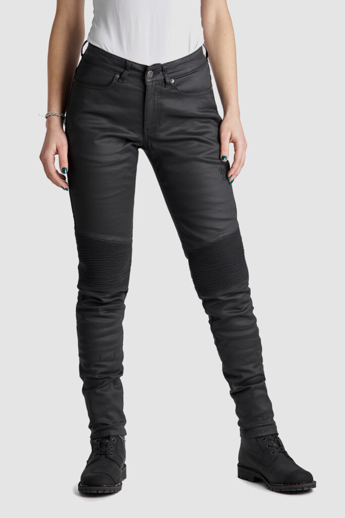 Kusari Kev 02 Motorcycle Jeans for women front view