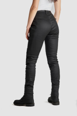 Kusari Kev 02 Motorcycle Jeans for women back view