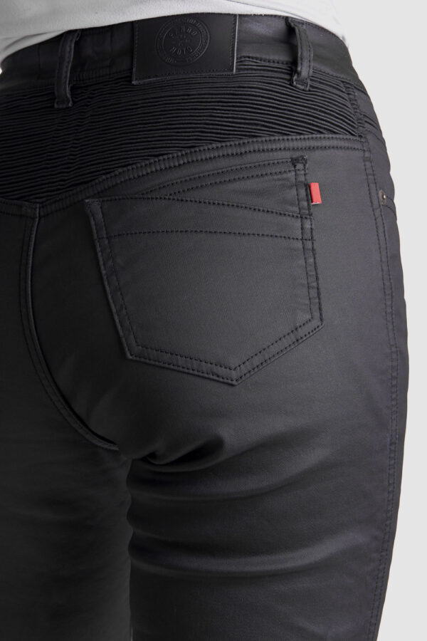 Lorica Kev 02 motorcycle jeans for women back view close-up