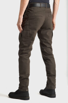 Mark KEV 02 Olive Motorcycle Jeans back view