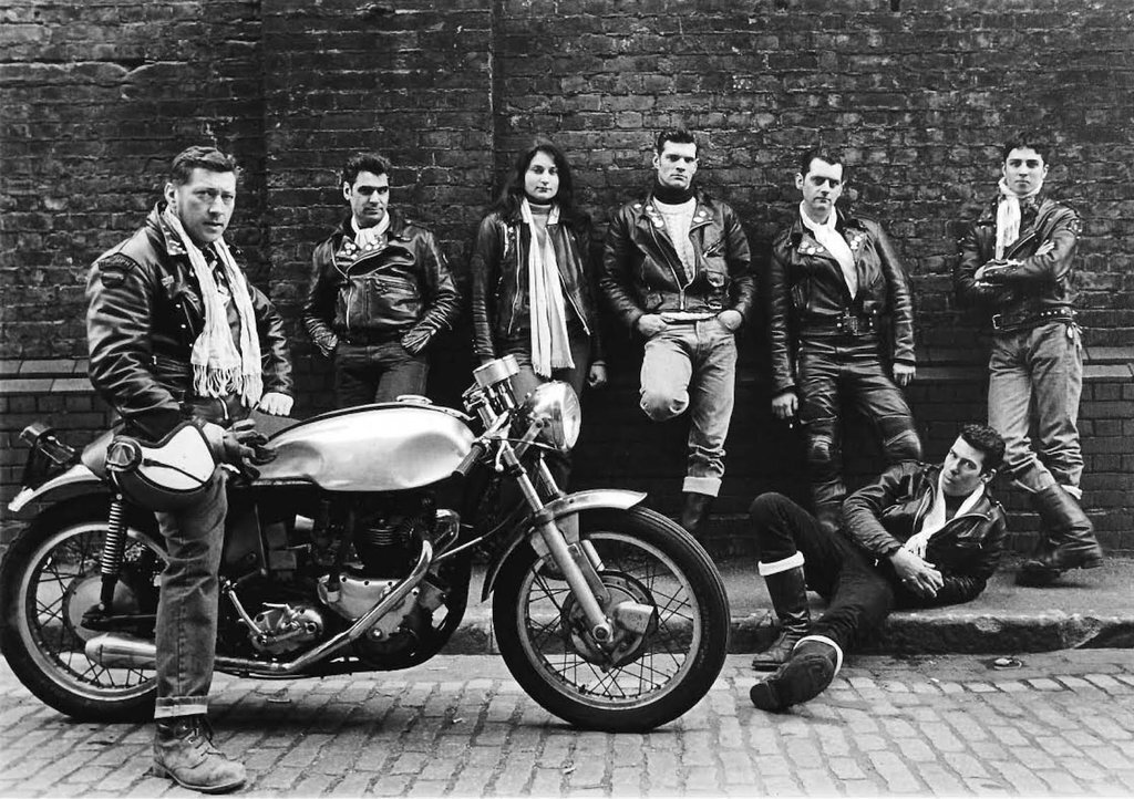 Old school Cafe Racers' band