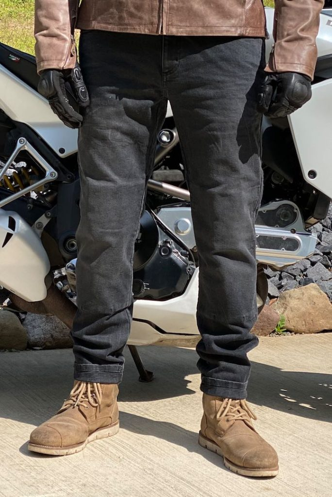 Boss Dyn 01 Motorcycle Jeans front view