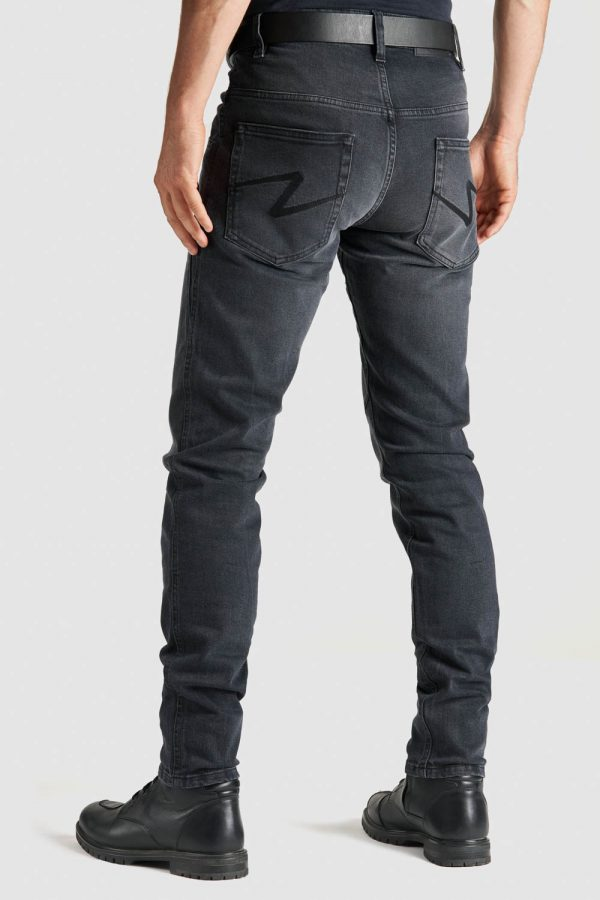 ROBBY 03 slim-fit Motorcycle Jeans back view