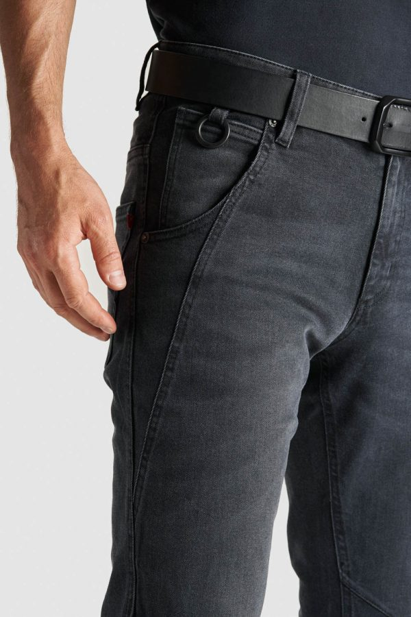 ROBBY 03 slim-fit Motorcycle Jeans close-up